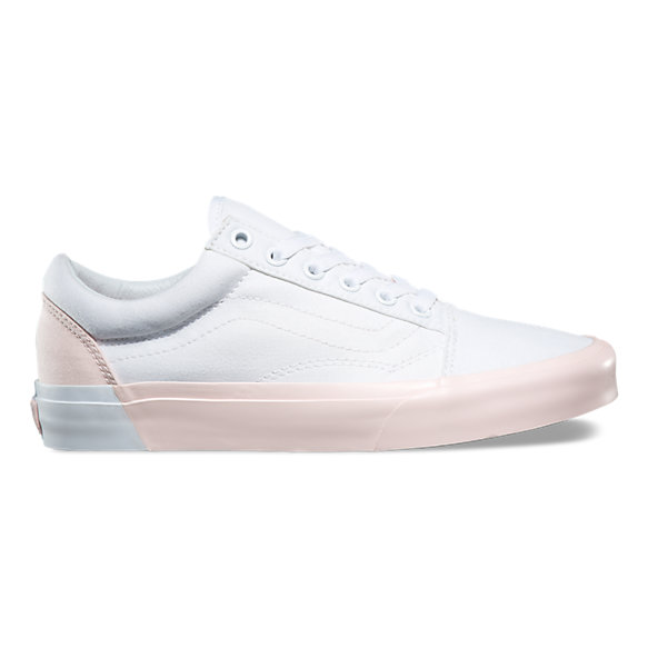 Vans Old Skool (Blocked) Pearl True White | Footshop