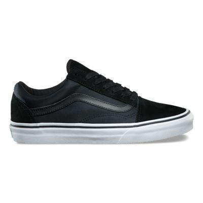 "Vans Men's Shoe's ""Old Skool"" -- (Boom Boom) Black/TrueWht"