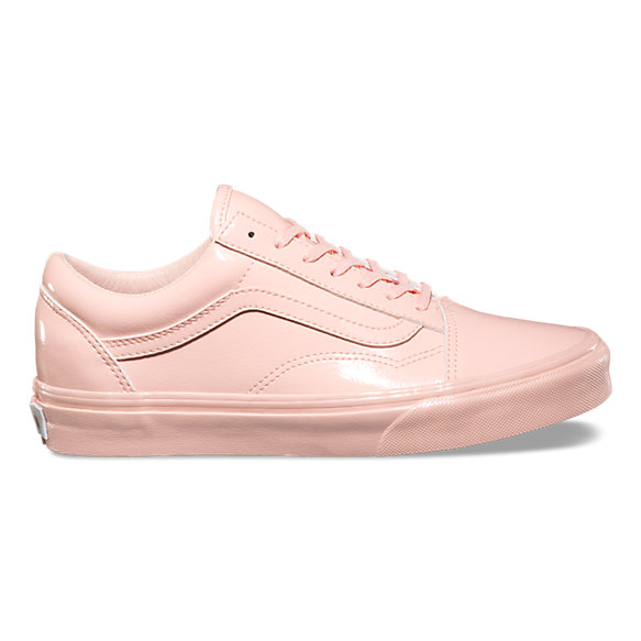 Patent Leather Vans Shoes