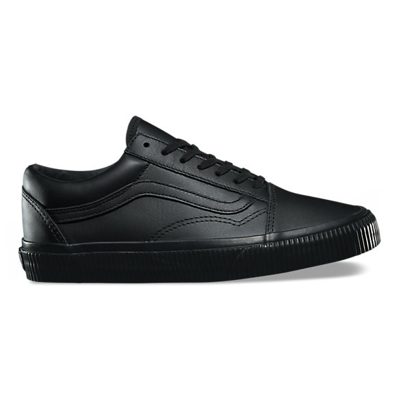 vans old skool all black damen