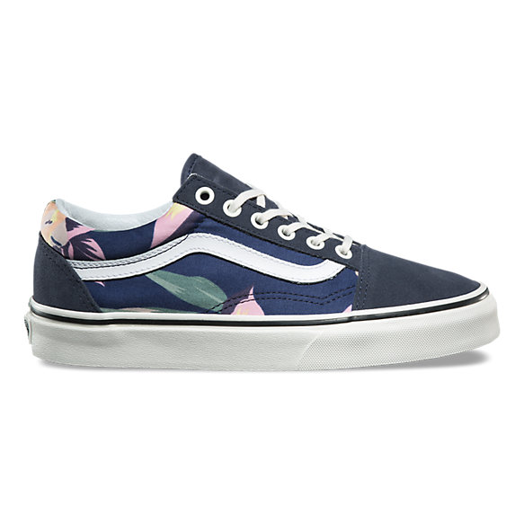 vans old skool floral