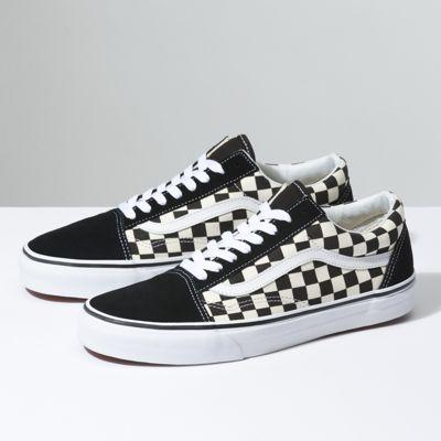 UK Shoes Store  Era Real Men Stars Stripes Checker Vans
