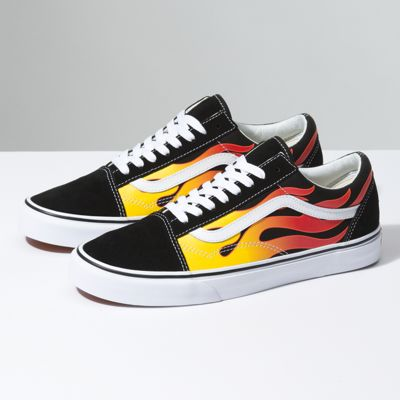 Hot Rod Vans Shoes