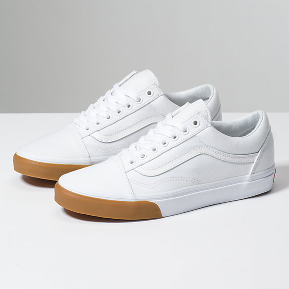 Vans Vans Authentic (Gum Bumper) true white Xq4GN4W