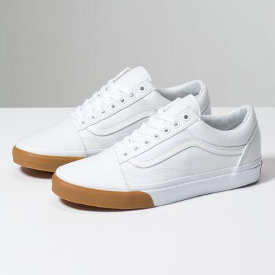 Vans Shoes Old Skool True White Gum Bumper