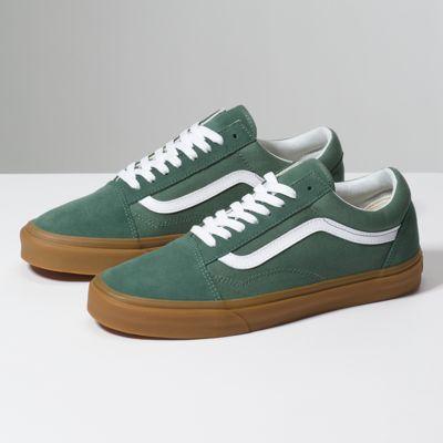 van old skool chaussures duck gum