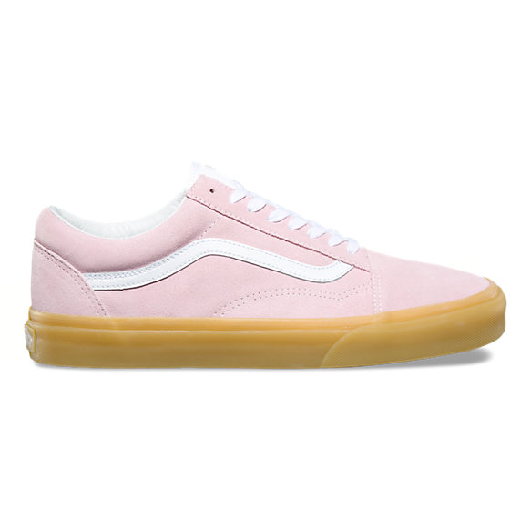 vans old skool pink gum nz