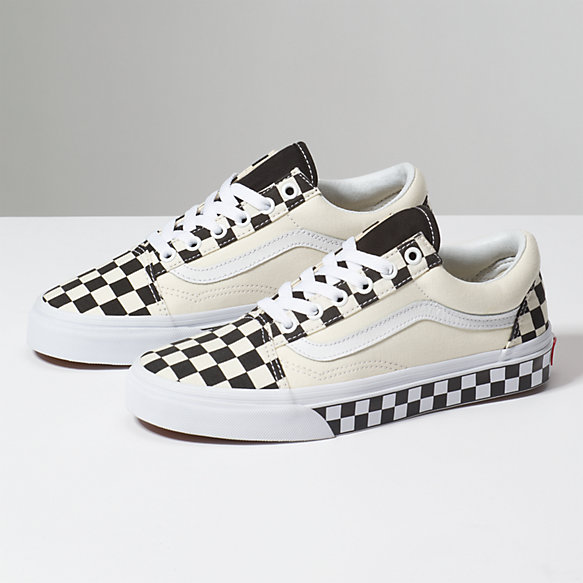 Checker Sidewall Old Skool Shop At Vans
