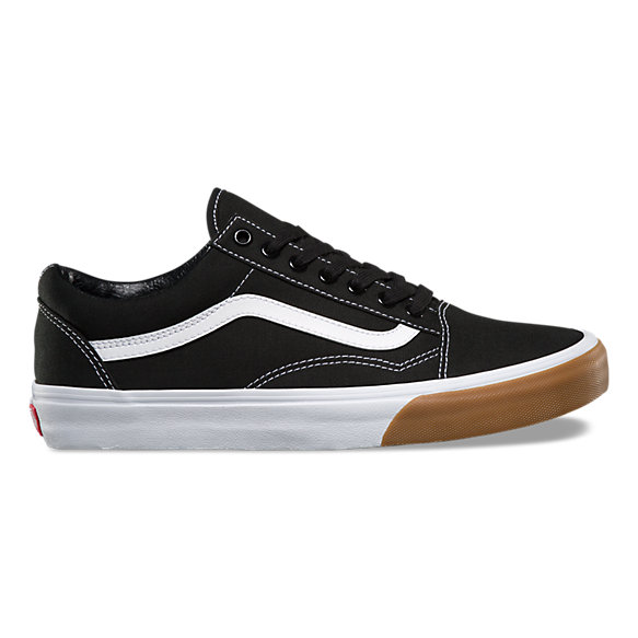 harga vans old skool black gum