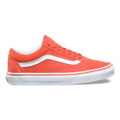 Vans Old Skool Coral White shoes online hot sale