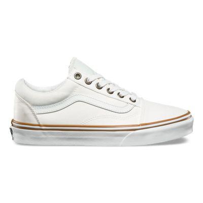 vans blanche old skool