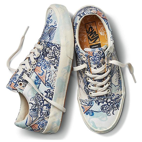chaussures vans x van gogh