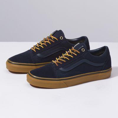 VANS old school sneakers men gum sole vans station wagons OLD SKOOL GUM VN0A38G1MW1 men shoes white