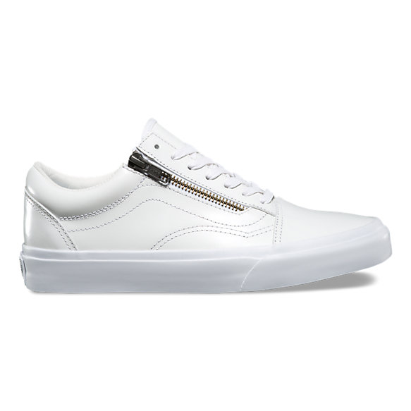 Smooth leather Old Skool Zip DX