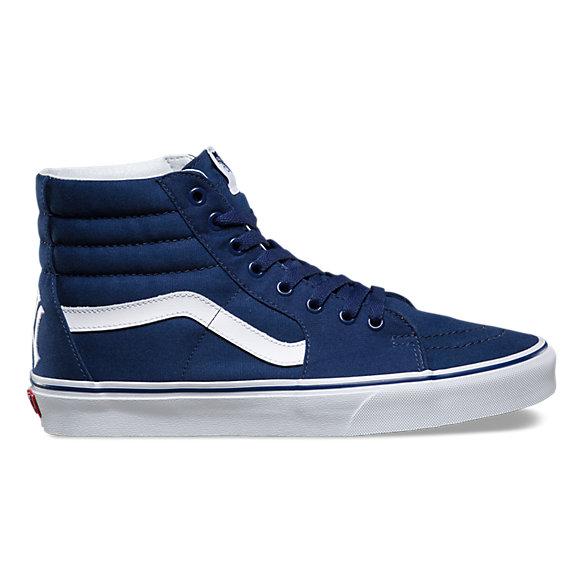 vans sk8hi blu navy