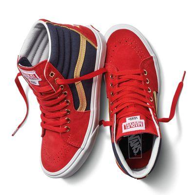 vans captain marvel chaussures