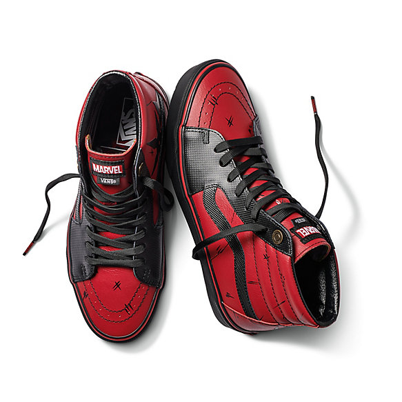 vans x marvel sk8-hi shoes