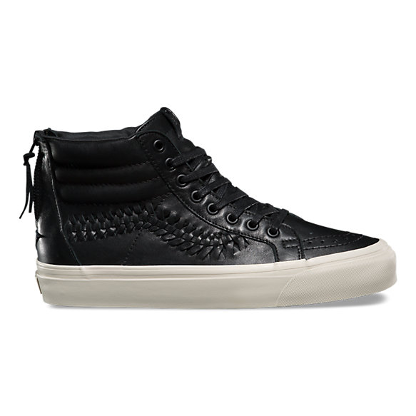 7974912244a0 Leather SK8-Hi Zip Weave DX