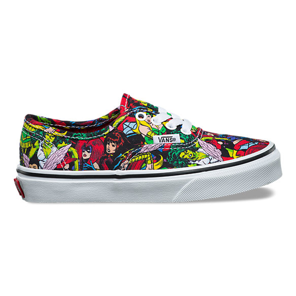 Vans X Marvel Kids Authentic