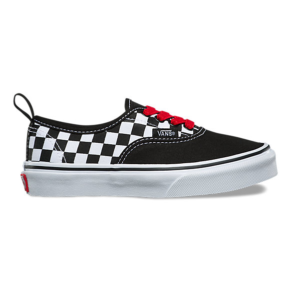 Kids Checkerboard Authentic Elastic Lace