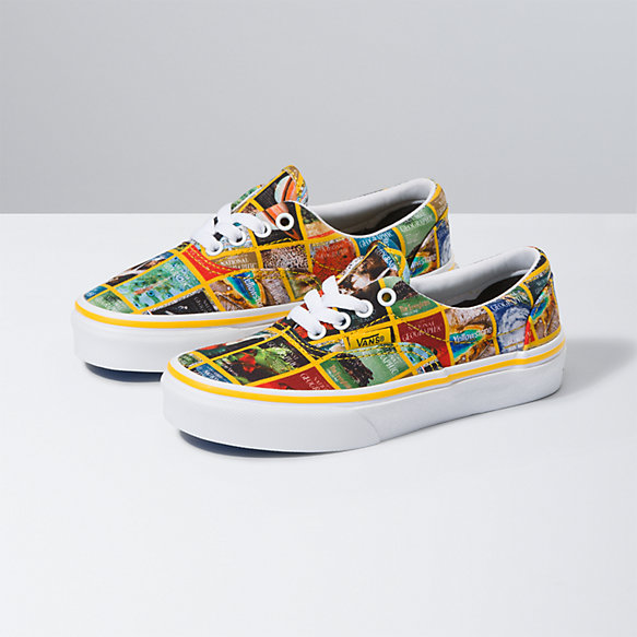 Vans X National Geographic Kids Era
