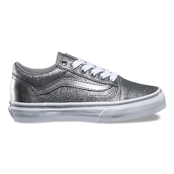 kids glitter metallic old skool shop at vans. Black Bedroom Furniture Sets. Home Design Ideas