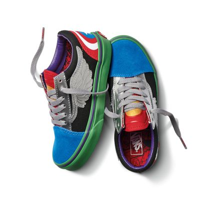vans marvel kid