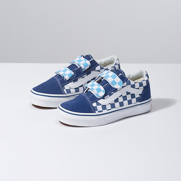 Kids Checkerboard Old Skool V