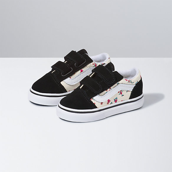 Toddler Ditsy Floral Old Skool V