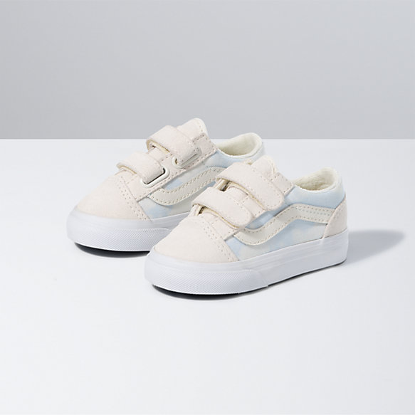 Toddler Bleach Wash Old Skool V