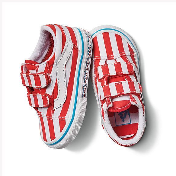 Vans X Where's Waldo? Toddler Old Skool V
