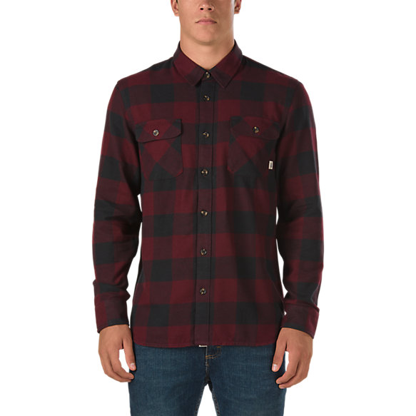 hixon flannel shirt shop mens shirts at vans