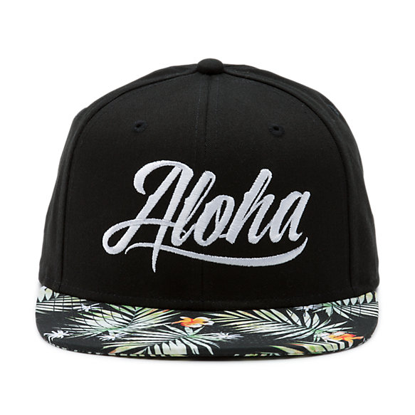 Hawaii Greeting Snapback Hat