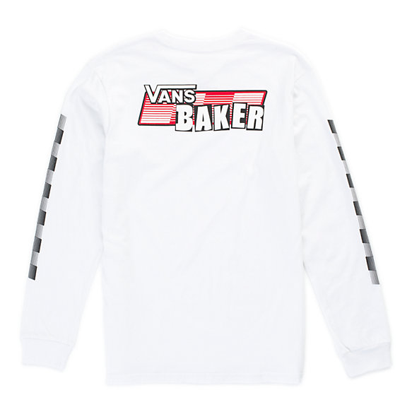 Baker X Vans Speed Boys Check Long Sleeve