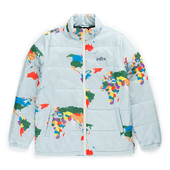 Save Our Planet X Vans Puffer Jacket