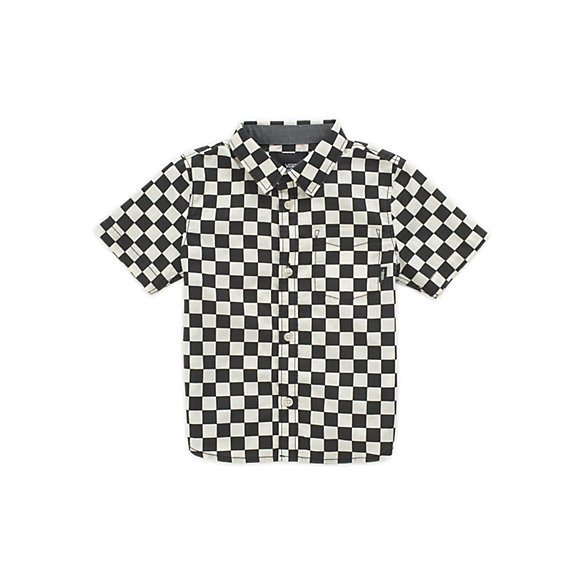 Little Kids Cypress Checker Buttondown Shirt