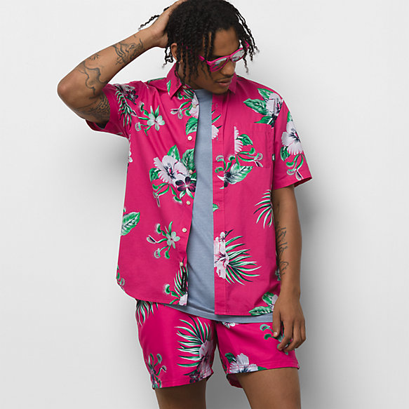 Trap Floral Buttondown Shirt