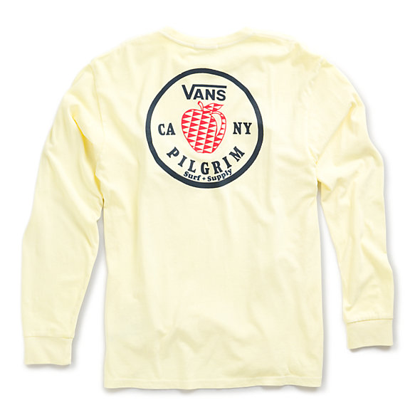 Vans X Pilgrim Surf + Supply Apple Long Sleeve T-Shirt