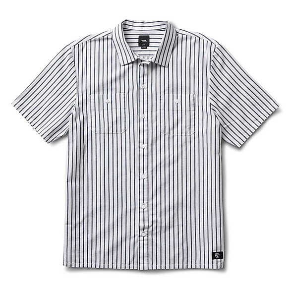 Rowan Zorilla Workwear Stripe Buttondown Shirt