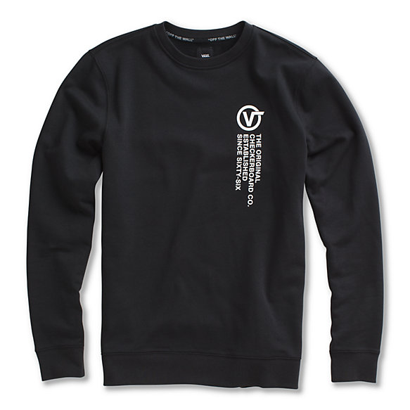 Distortion Type Crew Pullover