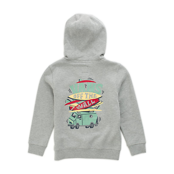 Little Kids Boarded Up Zip Hoodie