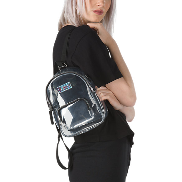 Two Time Shine Clear Mini Backpack