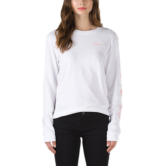 Blossom Script Long Sleeve T-Shirt
