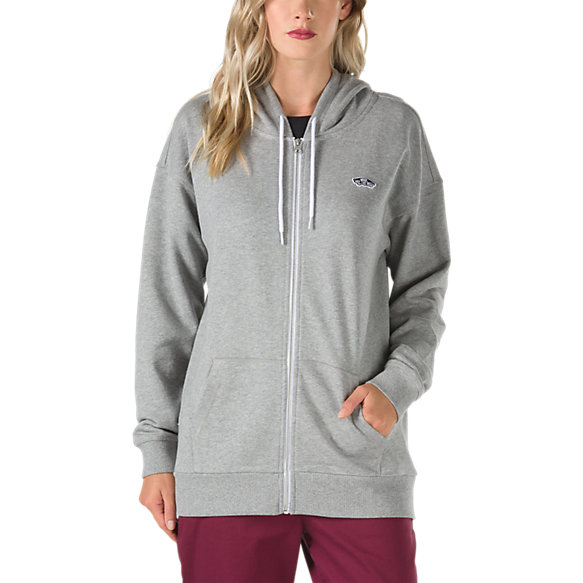 Intercept Oversized Zip Hoodie