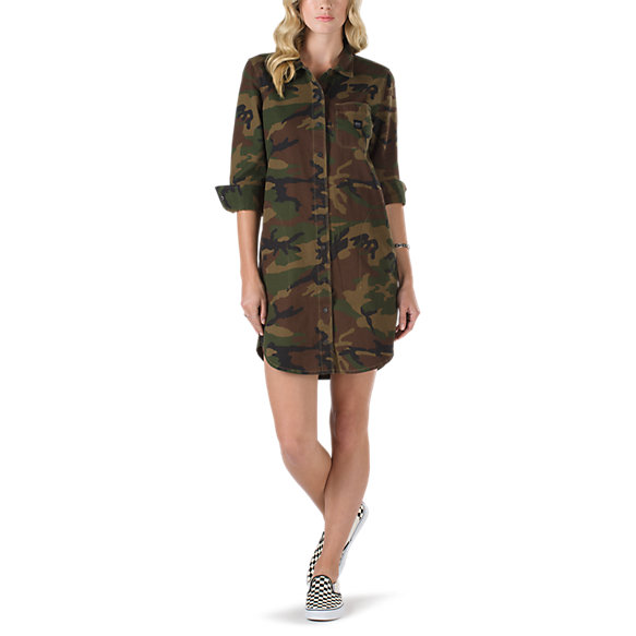 Assembly Shirt Dress