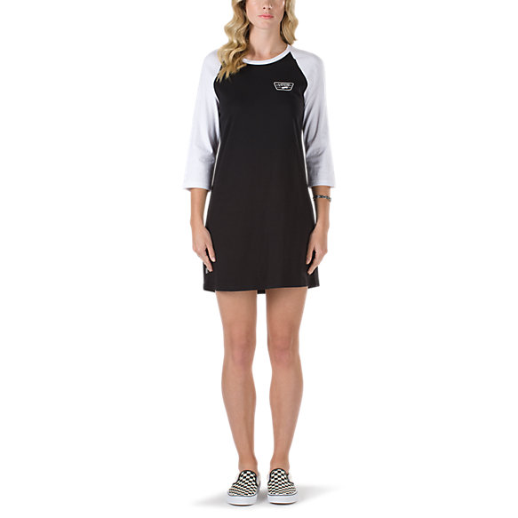 Full Patch Raglan Dress