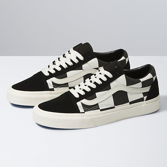 Oversize Checkerboard Old Skool