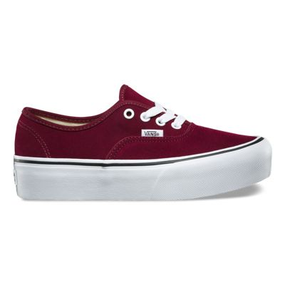 25d93b905543e6 Suede Authentic Platform 2.0