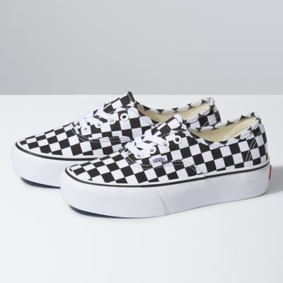 a60da4cb0cb1 Vans Checkerboard Authentic Platform 2.0