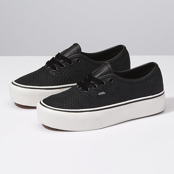 Leather Authentic Platform 2 0 | Shop At Vans